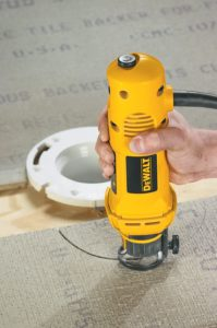 DEWALT DW660 Cut-Out 5 Amp 30000 RPM Rotary Tool for drywall cutting DESIGN
