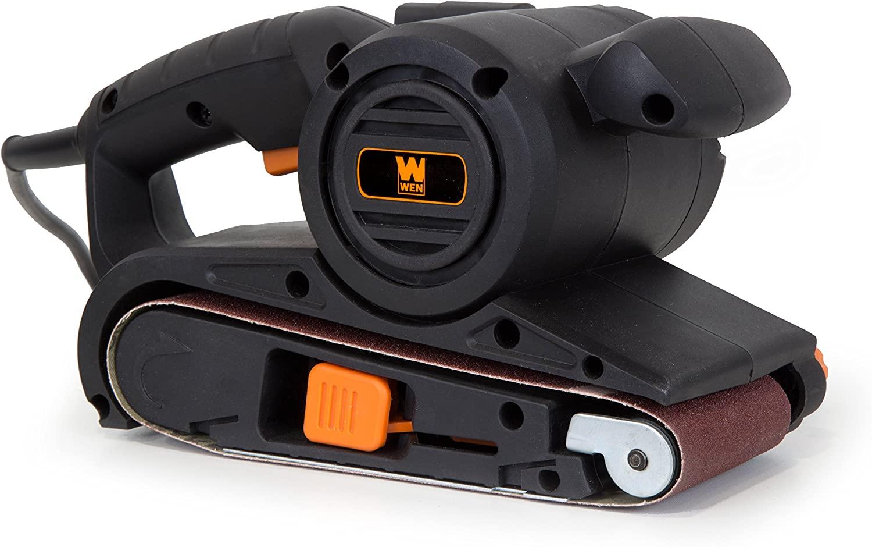WEN 6318 6-Amp 3-Inch x 18-Inch Heavy Duty Belt Sander with Dust Bag